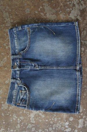 Tommy Hilfiger Jupe en jeans bleu foncé
