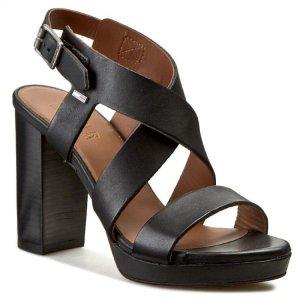 Tommy Hilfiger Platform High-Heeled Sandal black