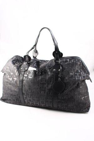 Tommy Hilfiger Reisetasche grau-schwarz Casual-Look