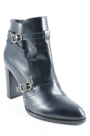 Tommy Hilfiger Reißverschluss-Stiefeletten schwarz Elegant
