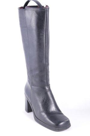 Tommy Hilfiger Reißverschluss-Stiefeletten schwarz klassischer Stil