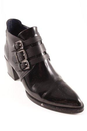 Tommy Hilfiger Reißverschluss-Stiefeletten schwarz Street-Fashion-Look