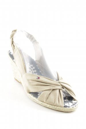 Tommy Hilfiger Riemchen-Sandaletten beige Elegant