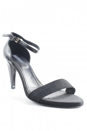 Tommy Hilfiger Strapped High-Heeled Sandals black classic style