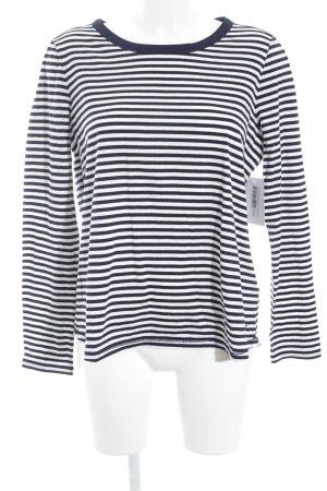 Tommy Hilfiger T-shirt rayé bleu-blanc cassé rayures horizontales style marin