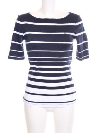 Tommy Hilfiger Gestreept shirt blauw-wit kleurverloop casual uitstraling