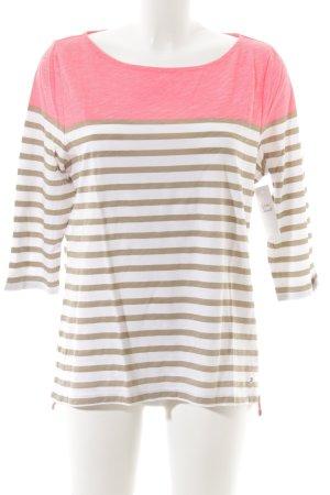 Tommy Hilfiger T-shirt rayé rayures horizontales style décontracté
