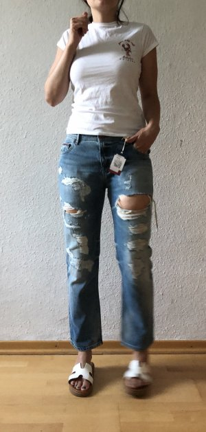Tommy Hilfiger Denim Boyfriend Jeans multicolored cotton