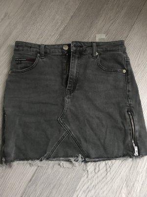 Tommy Jeans Gonna di jeans grigio-nero