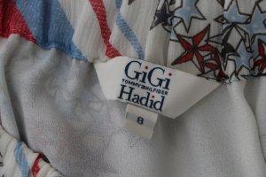Gigi Hadid x Tommy Hilfiger Jupe longue multicolore