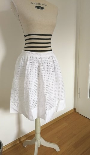 Tommy Hilfiger Lace Skirt white cotton