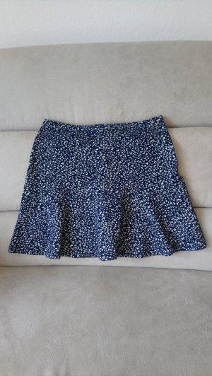 Tommy Hilfiger Denim High Waist Skirt white-dark blue