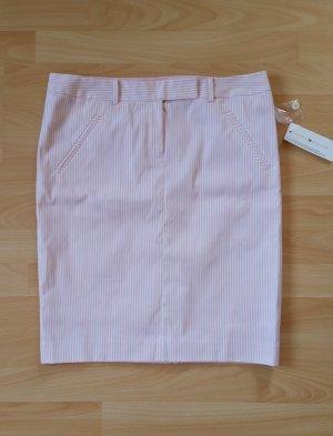 Tommy Hilfiger Rock weiß-rosa gestreift