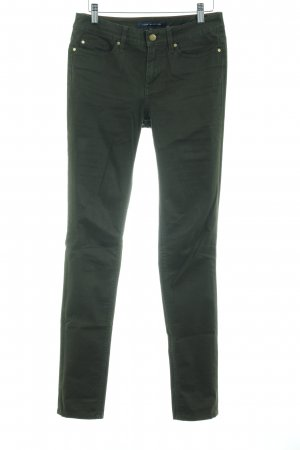 Tommy Hilfiger Drainpipe Trousers olive green casual look