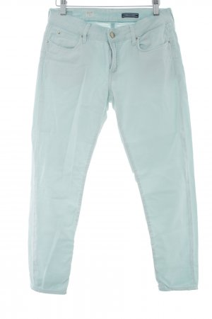 Tommy Hilfiger Drainpipe Trousers turquoise embroidered logo