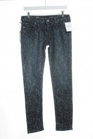 Tommy Hilfiger Tube Jeans blue abstract pattern casual look