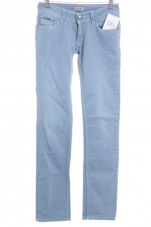 Tommy Hilfiger Jeans a sigaretta blu fiordaliso stile casual