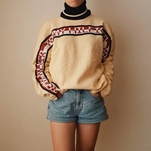 Tommy Hilfiger Turtleneck Sweater multicolored