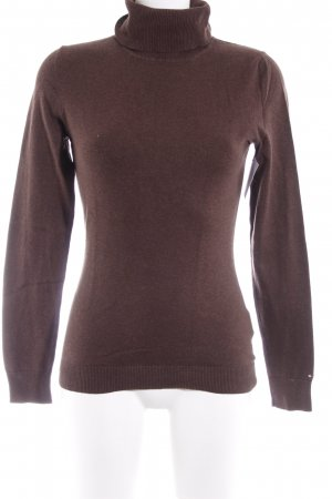 Tommy Hilfiger Turtleneck Sweater brown casual look