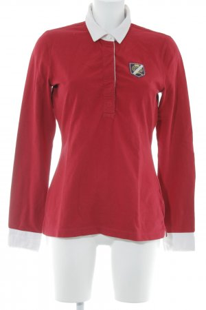 Tommy Hilfiger Rugby Shirt red-white casual look