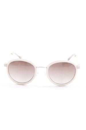 Tommy Hilfiger Occhiale da sole rotondo crema elegante