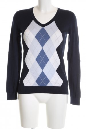 Tommy Hilfiger Rundhalspullover blau Business-Look