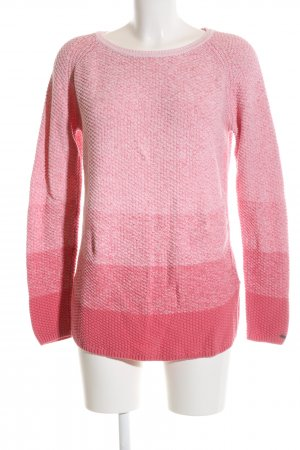 Tommy Hilfiger Rundhalspullover pink-rot Casual-Look