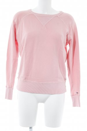 Tommy Hilfiger Rundhalspullover rosa Casual-Look