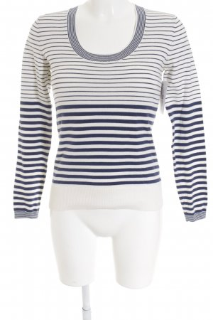 Tommy Hilfiger Crewneck Sweater white-dark blue striped pattern casual look