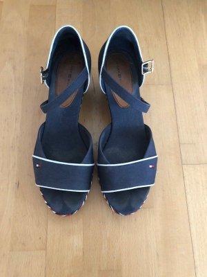 Tommy Hilfiger Plateauzool sandalen veelkleurig