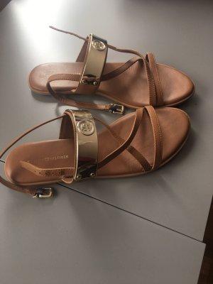 Tommy Hilfiger Sandalias de tiras marrón-marrón claro