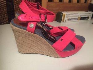 Tommy Hilfiger Wedge Sandals pink