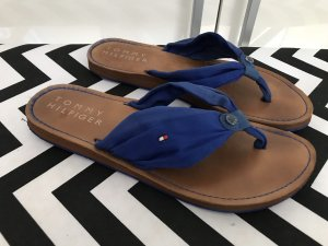 Tommy Hilfiger Sandalen Gr.41 blau Flip Flops