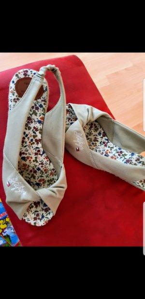 Tommy Hilfiger Wedge Sandals beige