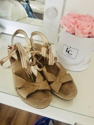 Tommy Hilfiger Wedge Sandals beige-camel