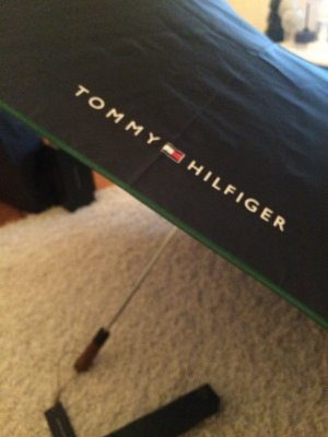 Tommy Hilfiger Umbrella red-dark blue