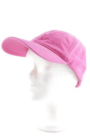 Tommy Hilfiger Cappello con visiera magenta stile da marinaio