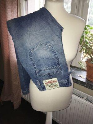 Hilfiger Jeans a zampa d'elefante blu acciaio Cotone