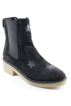 Tommy Hilfiger Bottines à enfiler noir Motif d'étoiles style décontracté