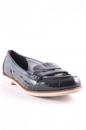 Tommy Hilfiger Slip-on Shoes dark blue classic style