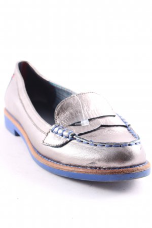 Tommy Hilfiger Slip-on Shoes silver-colored-cornflower blue classic style