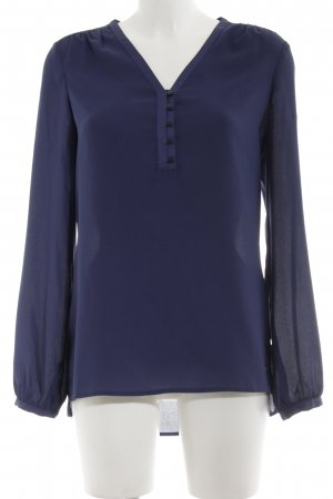 Tommy Hilfiger Schlupf-Bluse blau Business-Look