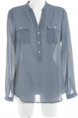 Tommy Hilfiger Slip-over Blouse dark blue-white check pattern casual look