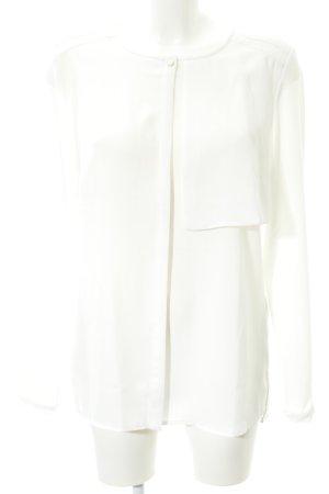 Tommy Hilfiger Slip-over blouse wit zakelijke stijl
