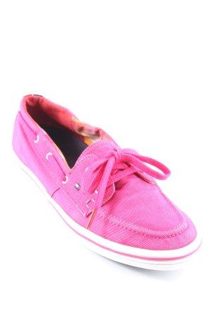 Tommy Hilfiger Chaussures à lacets violet style décontracté