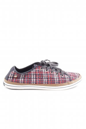 Tommy Hilfiger Schnürsneaker Allover-Druck Casual-Look