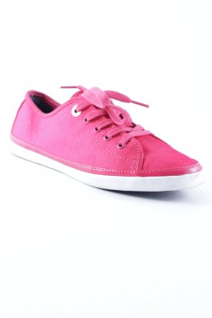 Tommy Hilfiger Lace-Up Sneaker magenta athletic style