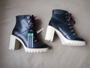 Tommy Hilfiger Sneakers met hak zwart
