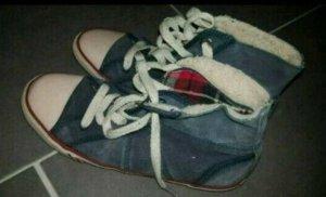 Tommy Hilfiger Zapatos brogue azul acero