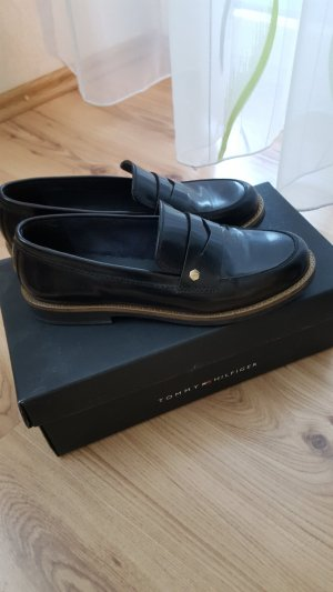 Tommy Hilfiger Low Shoes black leather